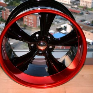 Custom Powder Coated Wheels
