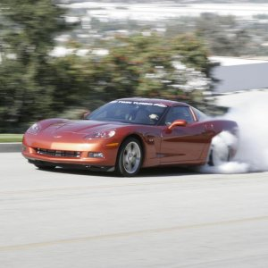 STS Twin Turbo C6 Burnout