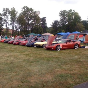 Vettes for Vets Carmel, In. 2010