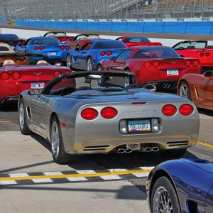 "Mike's '99 & SDC Vettes, ready for ""Hot Laps"" @ PIR"