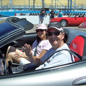 Mike & Maricel & their '99 C5 Convertible