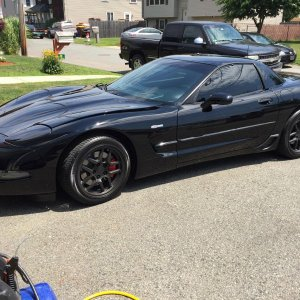 My 04 Z06 with Dipped Wheels