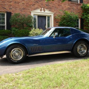 1972 Corvette 454 four speed all options all original, all number matching